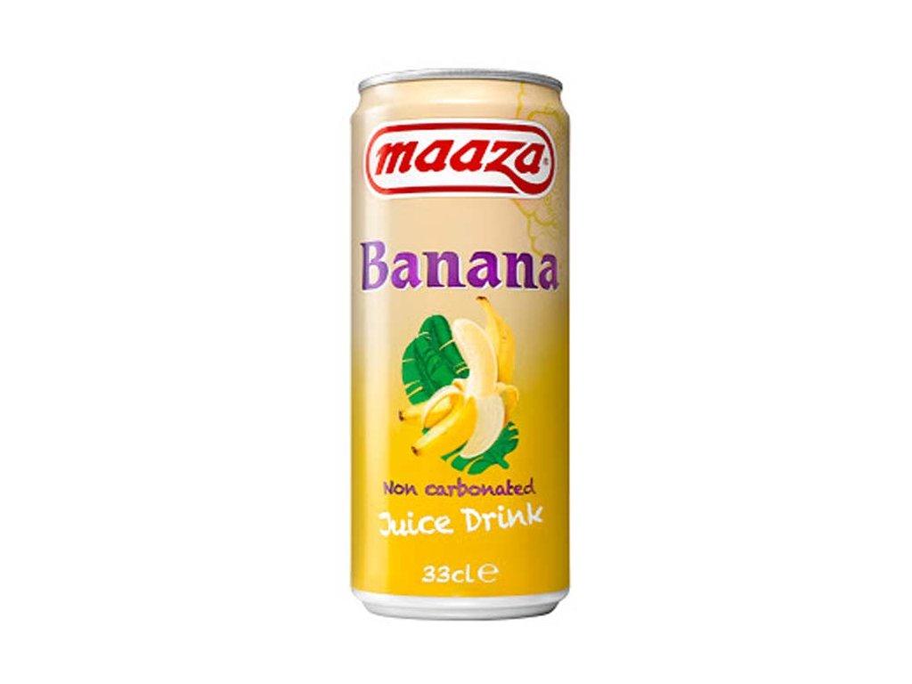 Banánový džusový nápoj, MAAZA 330ml