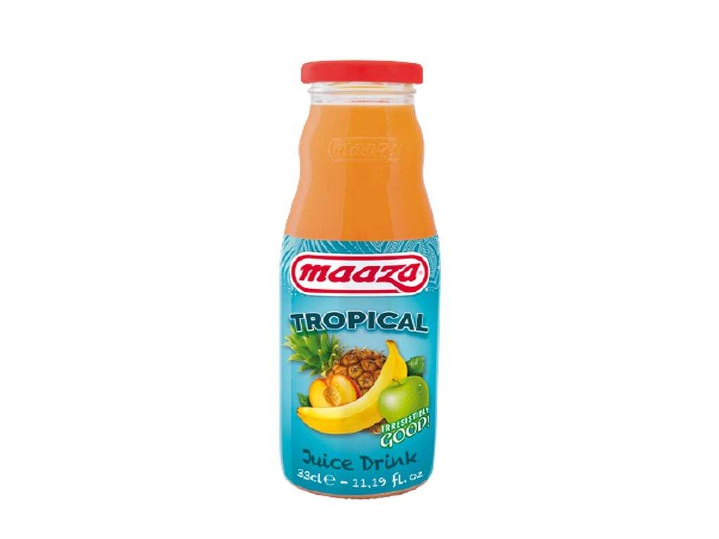 Džusový nápoj Tropical, MAAZA 330ml
