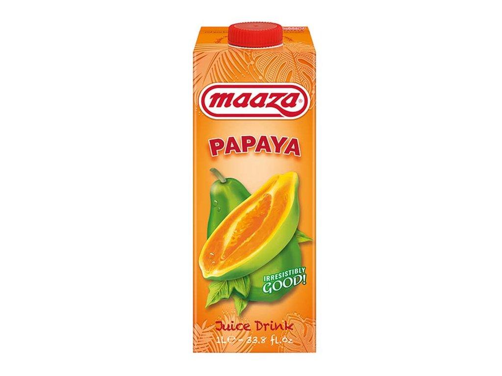 Papájový džus, MAAZA 1L