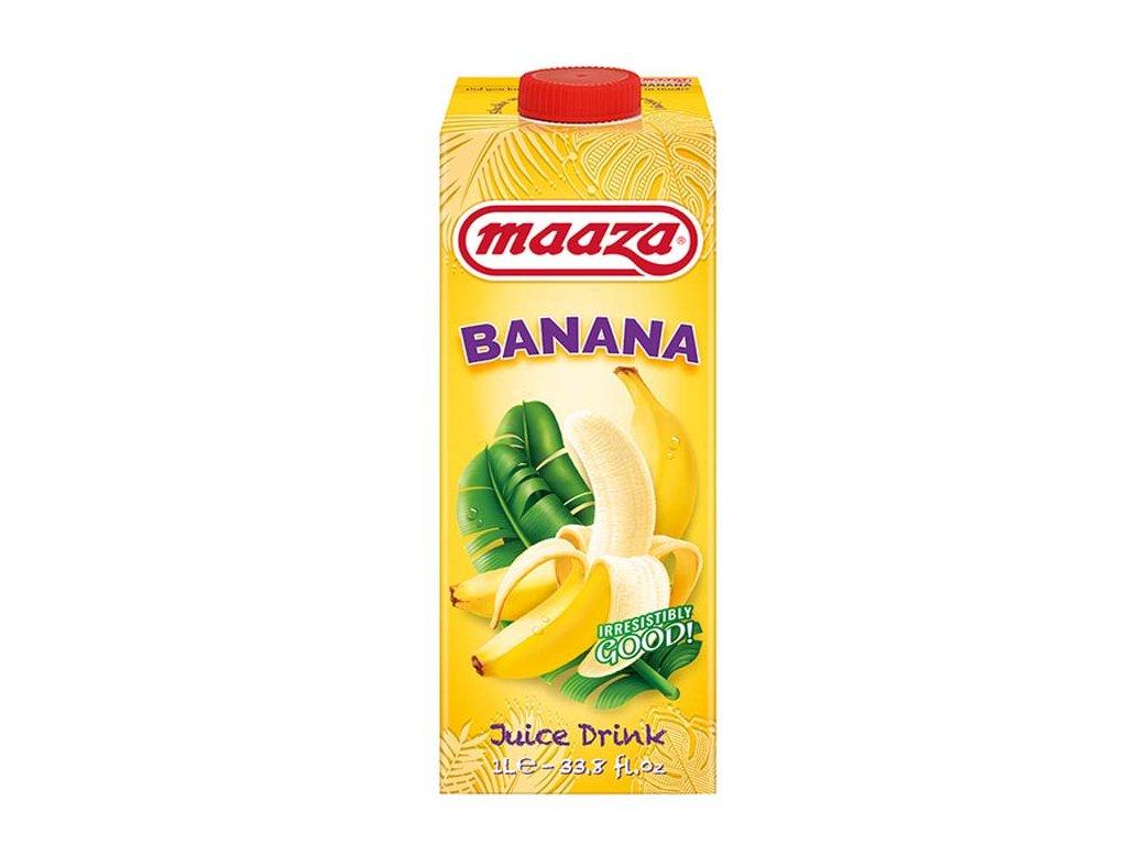 Banánový džús, MAAZA 1L