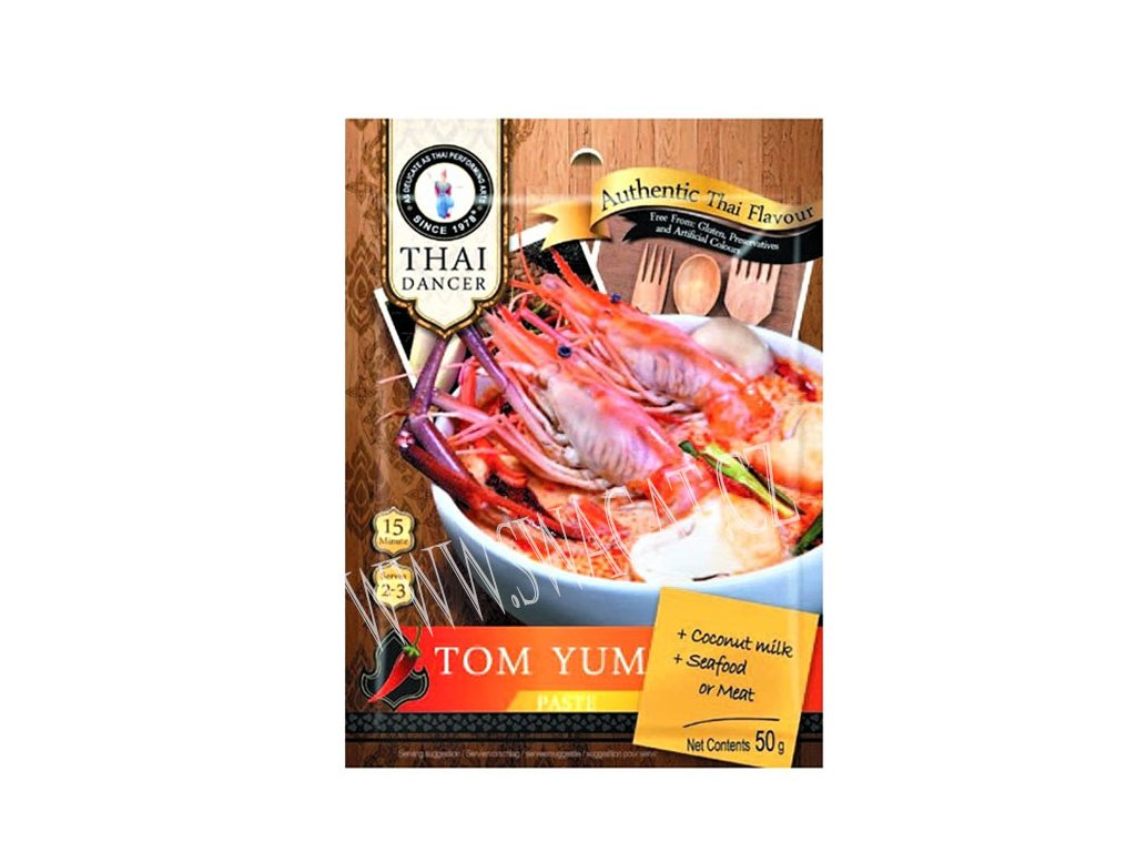 Pasta Tom Yum, THAI DANCER 50g