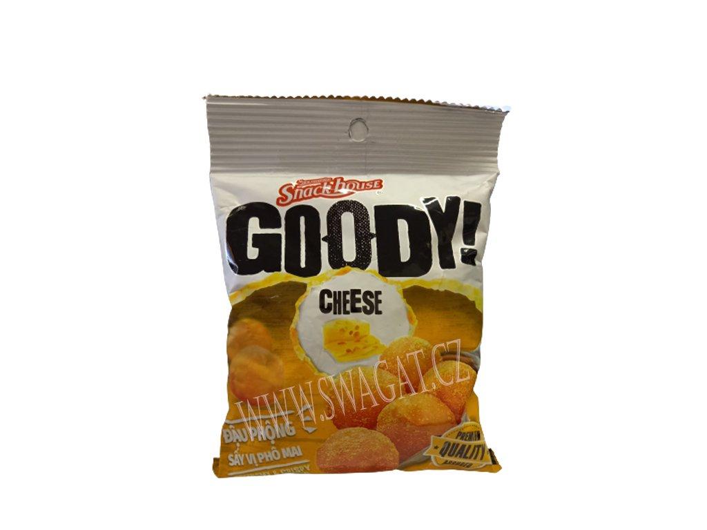 Křupavé arašídy v sýrovém těstíčku, GOODY! 60g