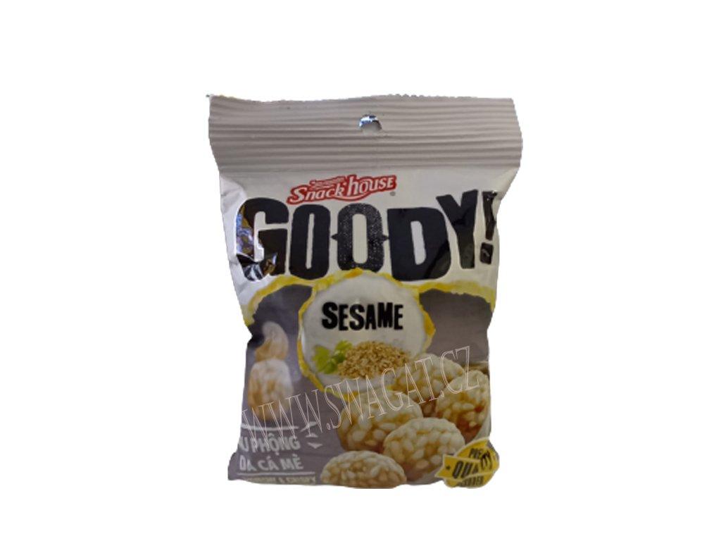 Křupavé arašídy v sezamovém těstíčku, GOODY! 60g