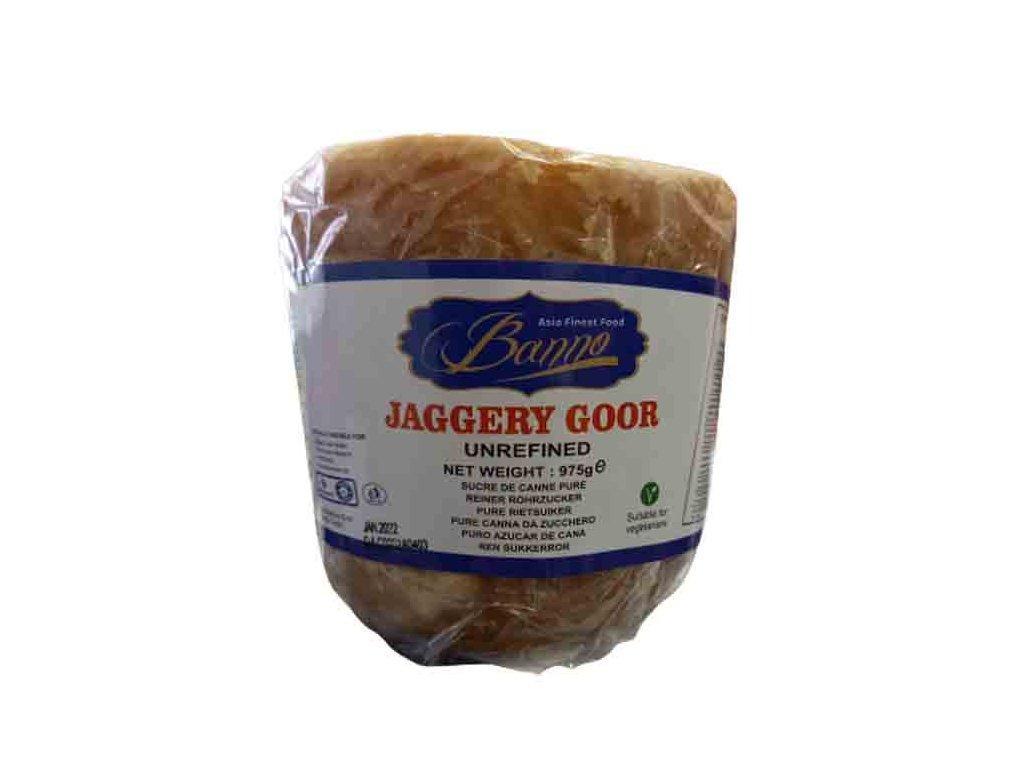 JAGGERY GOOR přírodní třtinový cukr, BANNO 975g