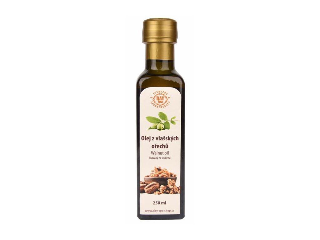 Olej z vlašských ořechu lisovaný za studena, 250ml