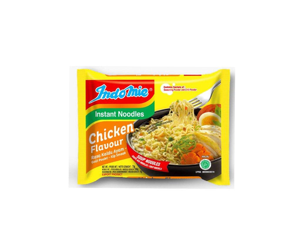 Instantní nudlová polévka s kuřecí příchutí, INDOMIE 75g