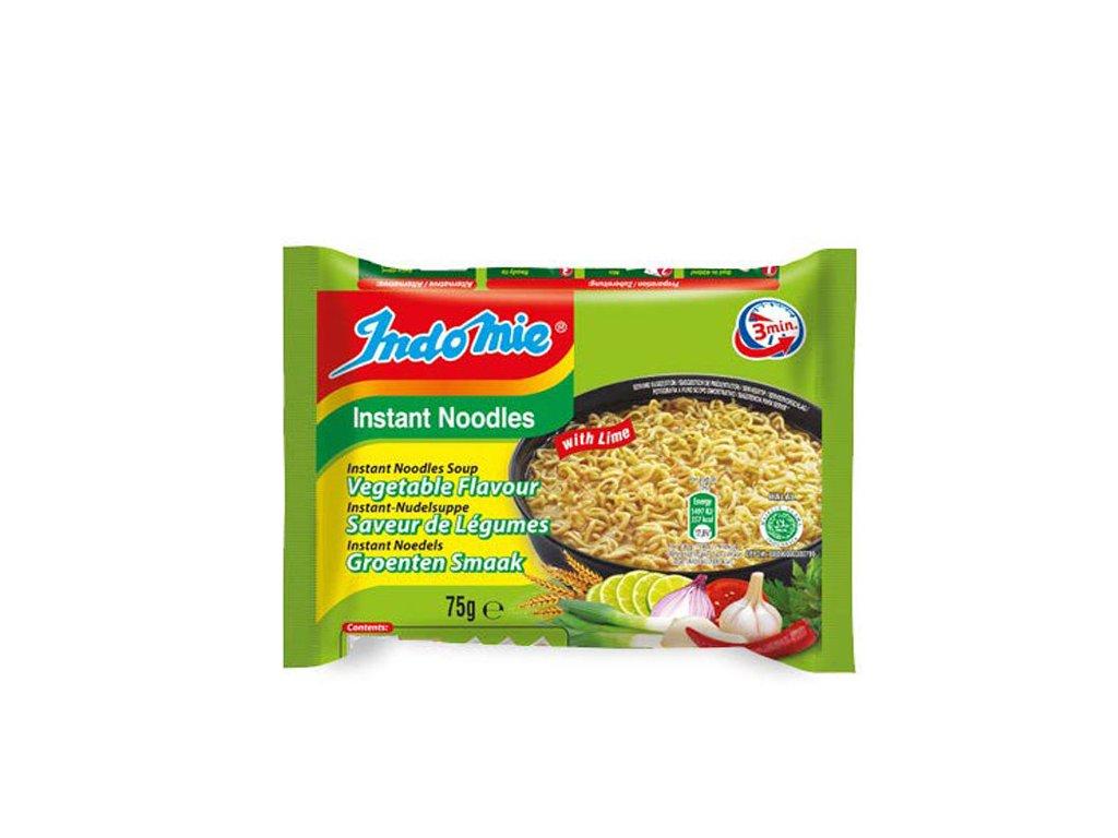 Instantní nudlová polévka se zeleninovou příchutí, INDOMIE 75g