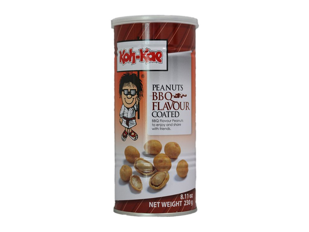 Obalené arašídy s příchutí BBQ, KOH-KAE 230g