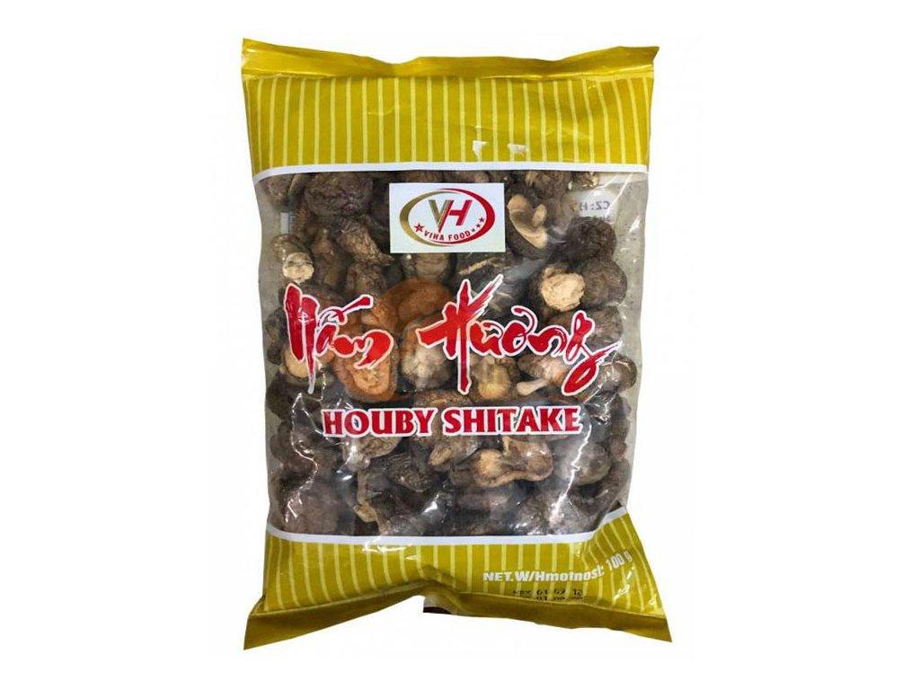 Sušené houby Shiitake, VIHA FOOD 100g