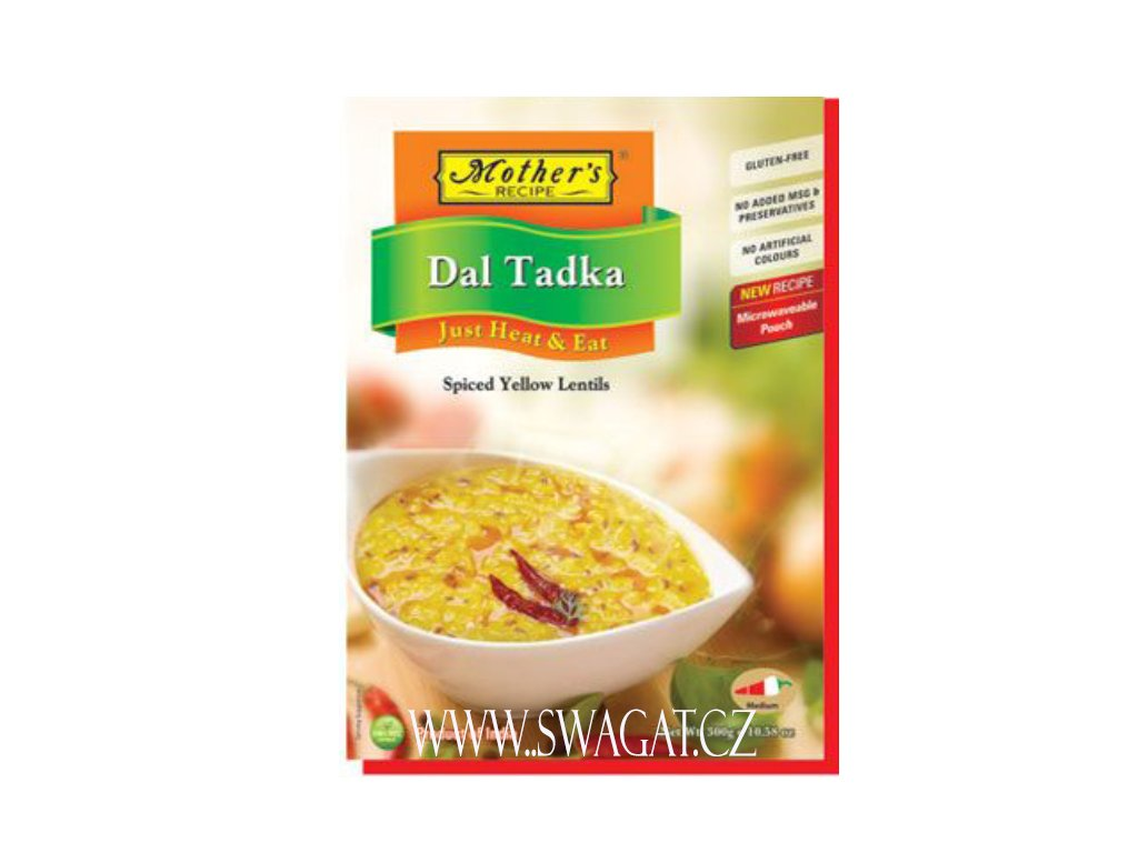 Hotové kari Dal Tadka (Ready Curry Dal Tadka), Mother`s Recipe 300g