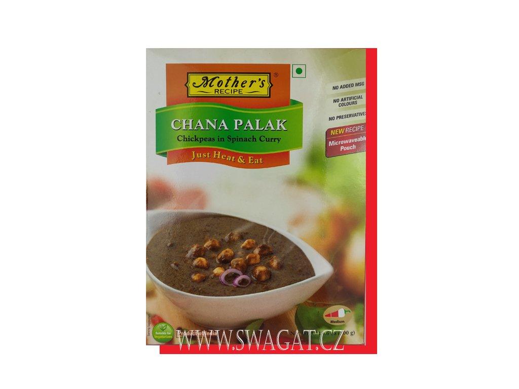Hotové kari Chana Palak (Ready Curry Chana Palak), Mother`s Recipe 300g