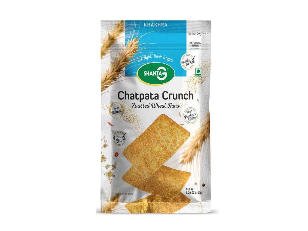 Pečená tenká Khakra Chatpata Crunch, SHANTA G 150g