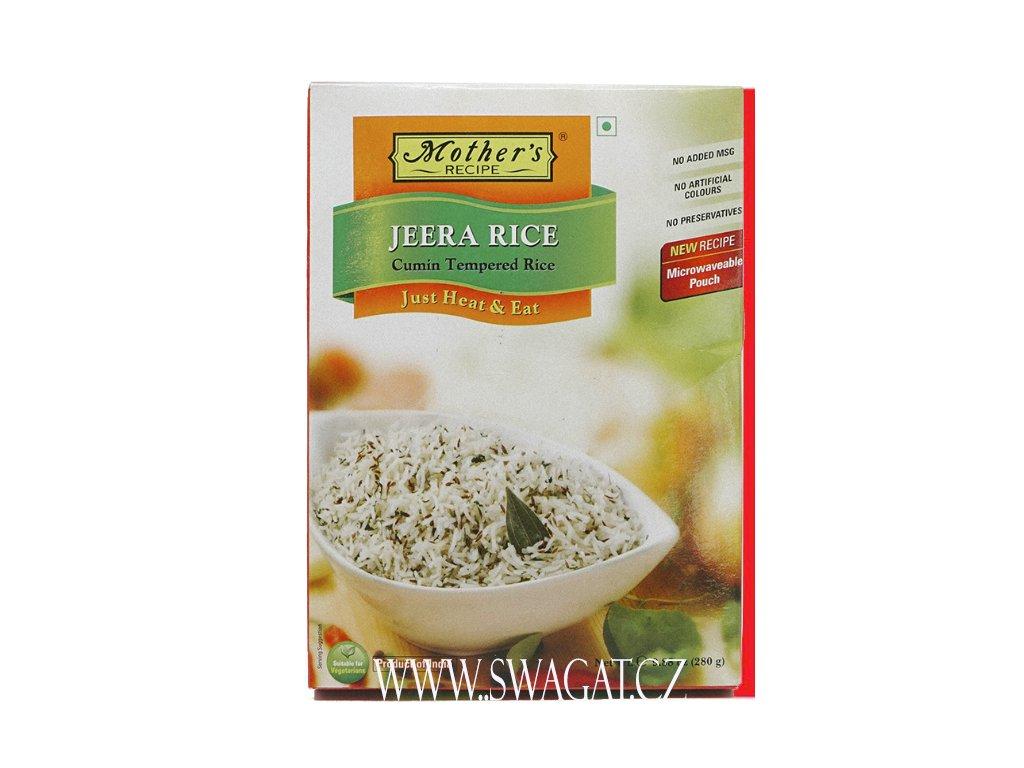 Hotová rýže s římským kminem (Jeera Rice), Mother`s Recipe 280g
