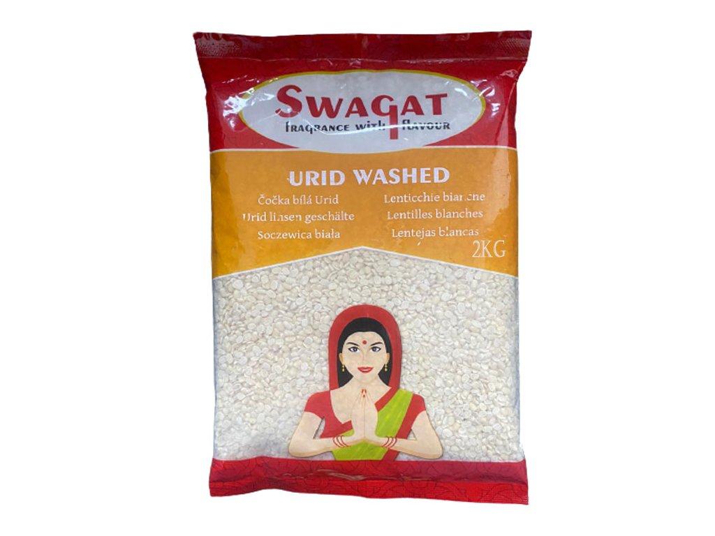 SWAGAT Urid Washed - bílá čočka 2Kg