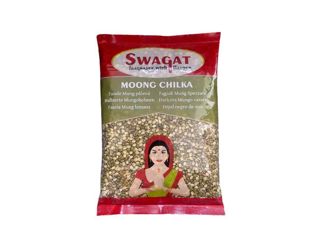 SWAGAT Moong Chilka - čočka půlená 500g