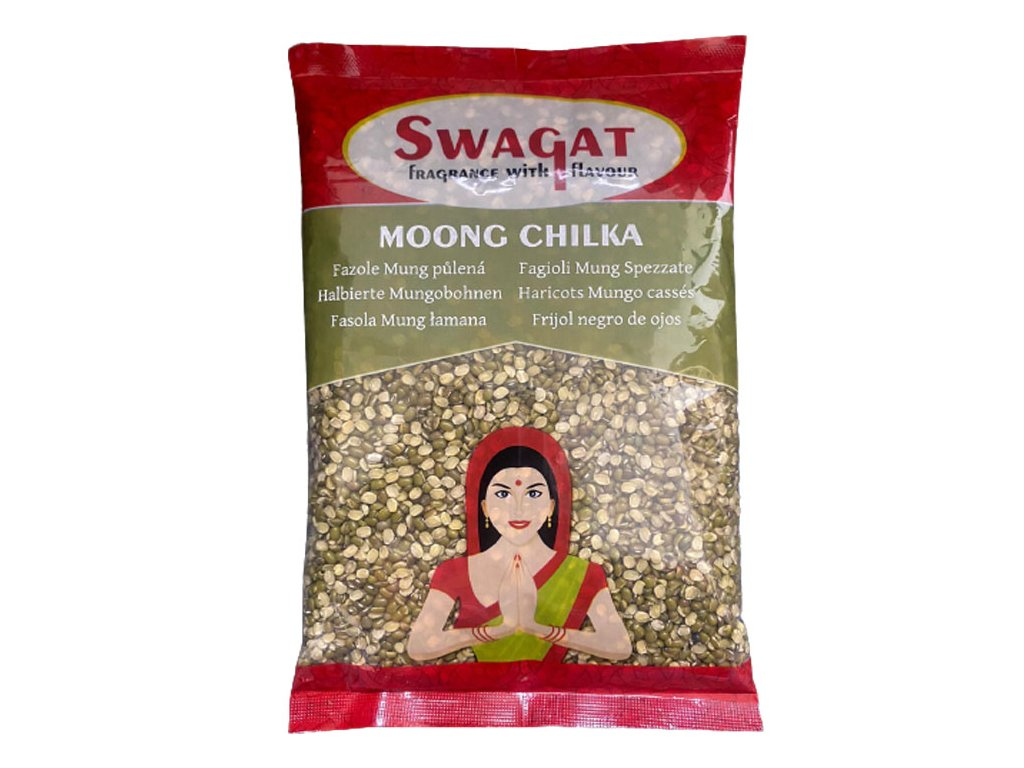 SWAGAT Moong Chilka - půlená čočka 2Kg
