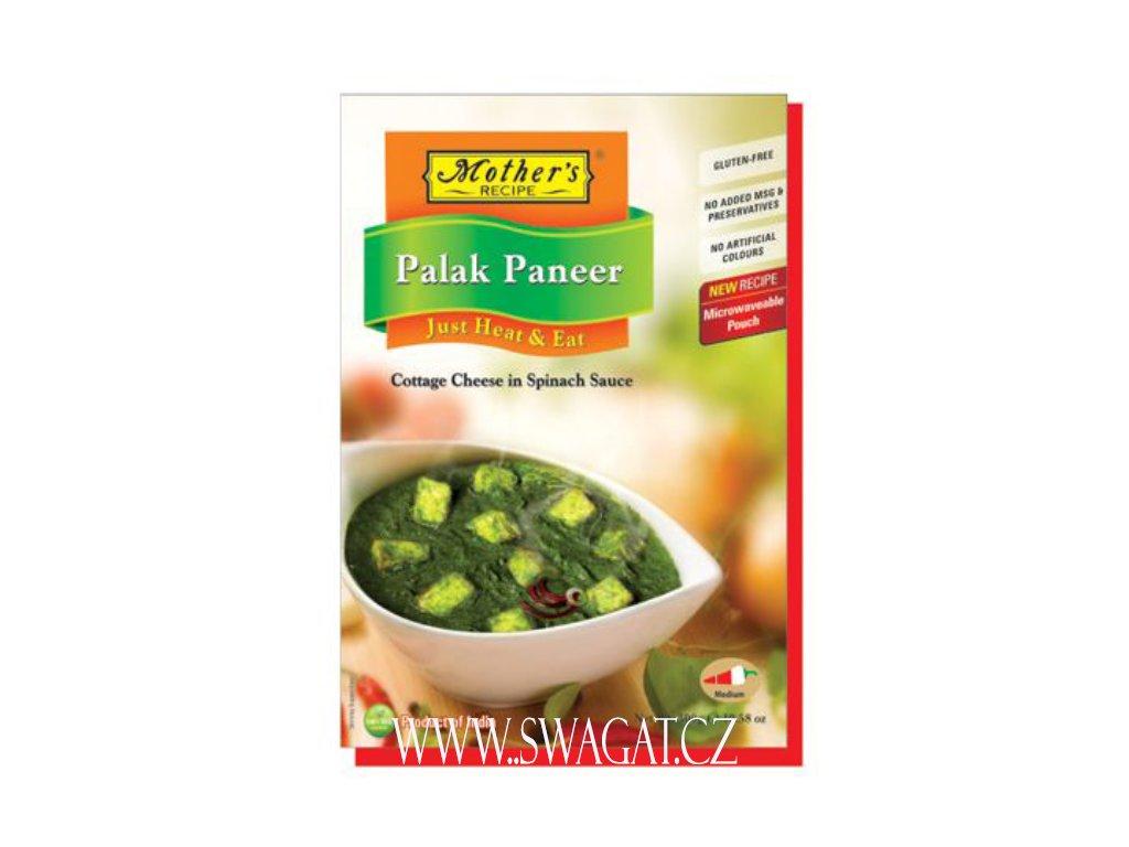Hotové kari Palak Panner (Ready Curry Palak Paneer), Mother`s Recipe 300g