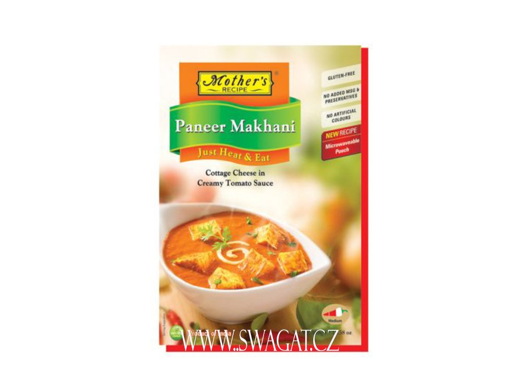 Hotové kari Panner Makhani (Ready Curry Paneer Makhani), Mother`s Recipe 300g