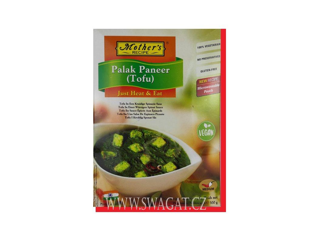 Hotové kari Palak Panner (Tofu), 300g