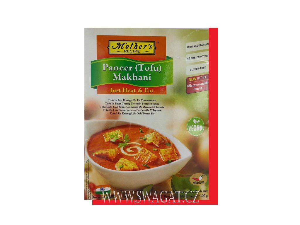 Hotové kari Paneer (Tofu) Makhani, 300g