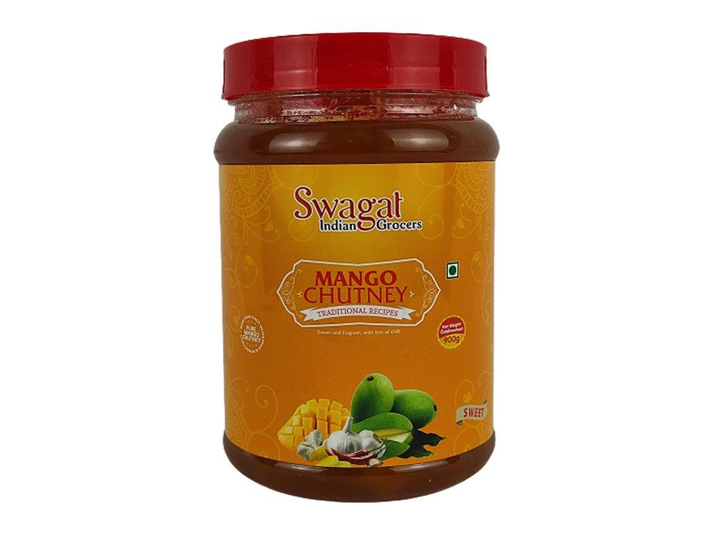 SWAGAT Mango Chutney sladký 900g