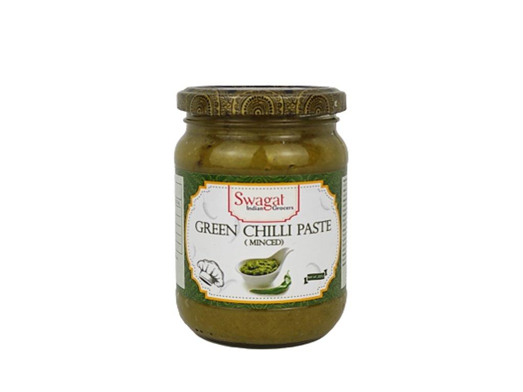 Pasta z mletých zelených chilli, SWAGAT 300g
