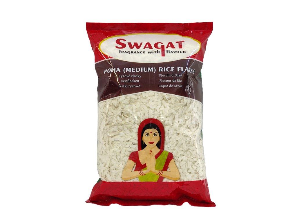 SWAGAT Rýžové vločky střední 1Kg