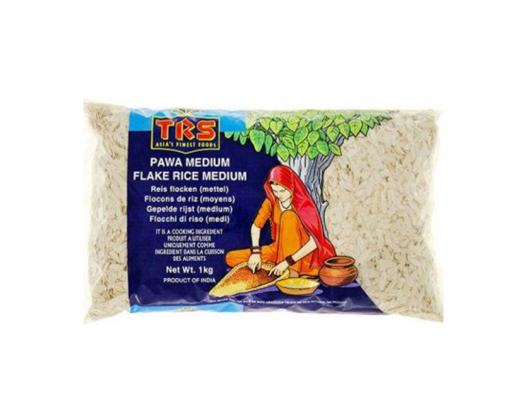 Rýžové vločky střední, TRS 1kg