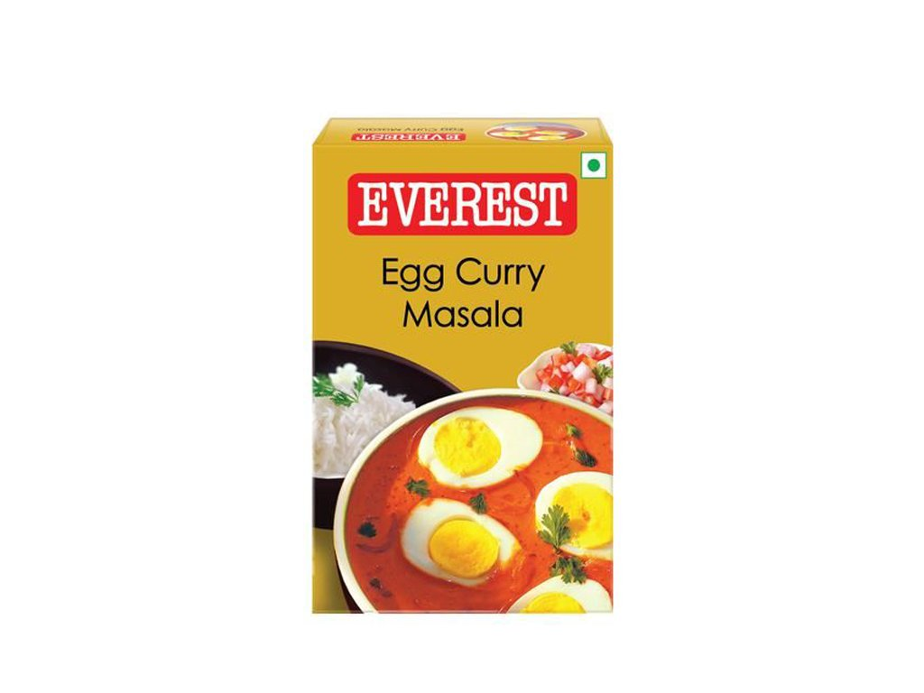 Egg Curry Masala - vaječné kari, EVEREST 50g