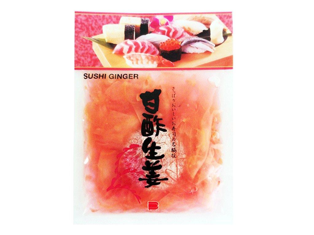 Nakládaný japonský růžový zázvor, ENDO 110g