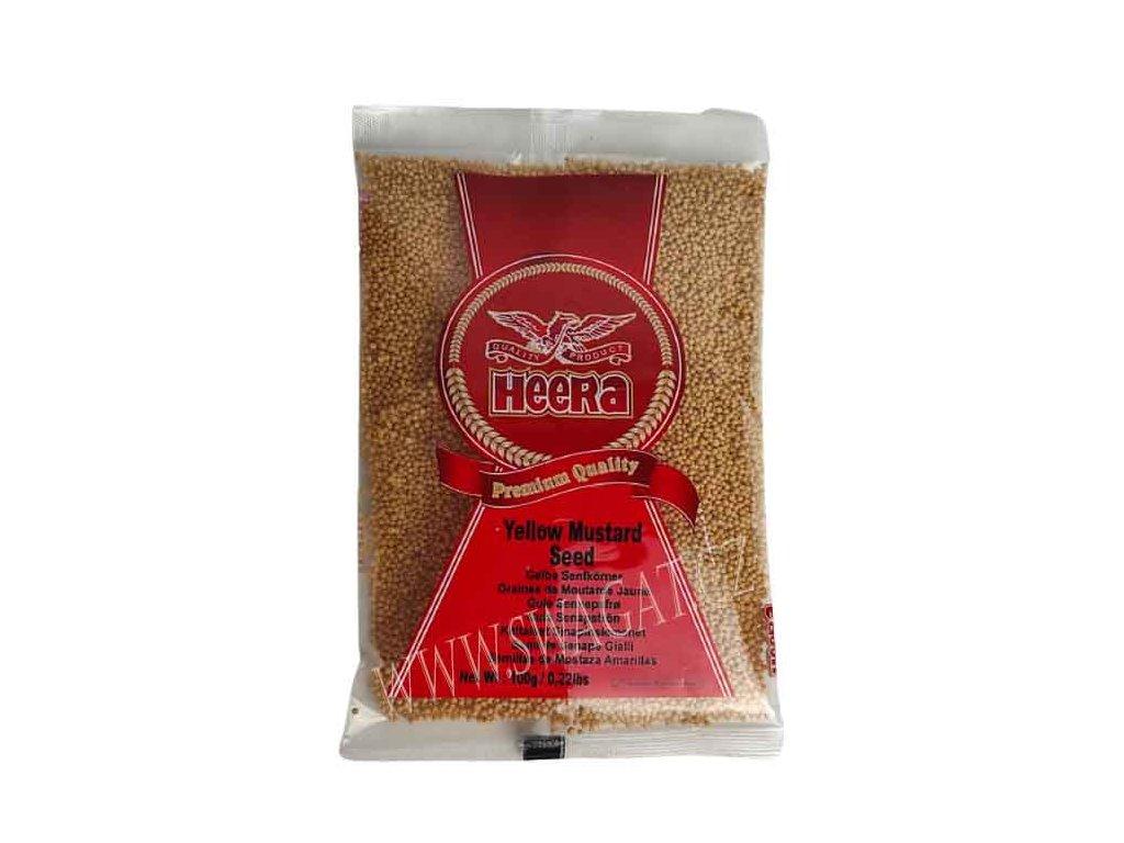 Hořčičné semínko žluté, HEERA 100g