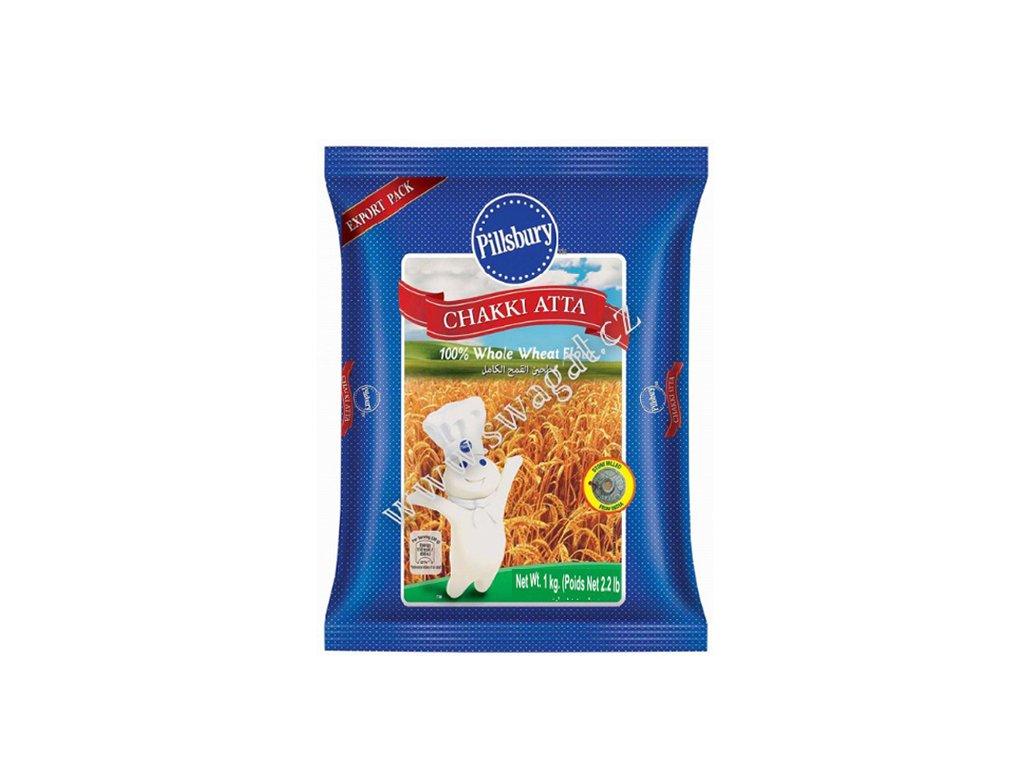 Atta - Celozrnná pšeničná mouka, PILLSBURY 1kg