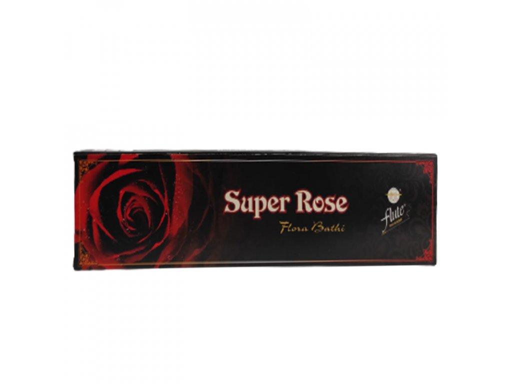 Vonné tyčinky Super Rose, FLUTE 15ks