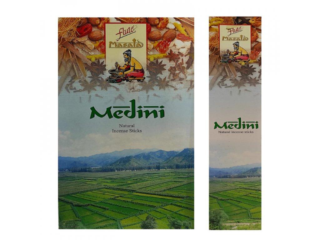 Vonné tyčinky Masala Medini, FLUTE 15ks