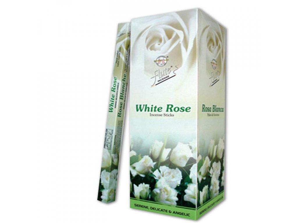 Vonné tyčinky Bílá růže, FLUTE 20ks