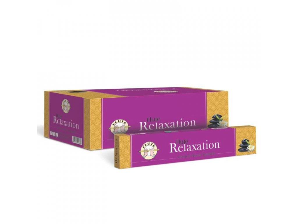 Premium Masala Relaxace vonné tyčinky, FLUTE 12ks