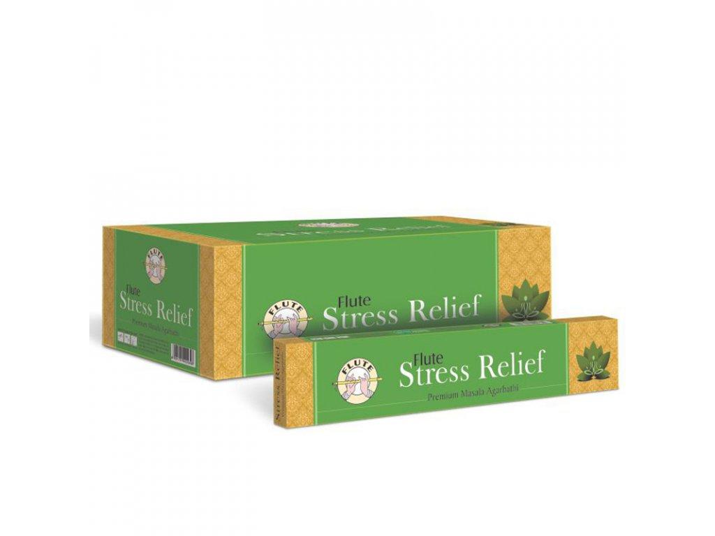Premium Masala vonné tyčinky Úleva od stresu, FLUTE 12ks