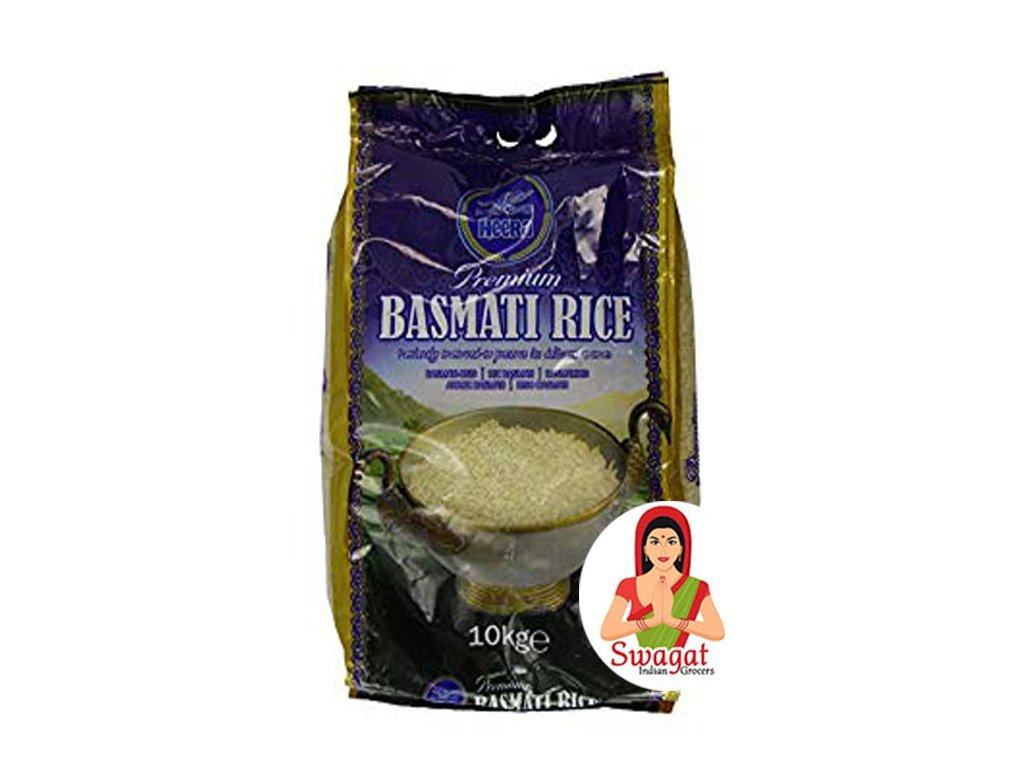 Heera Basmati rýže Premium (Premium Basmati Rice) 10Kg