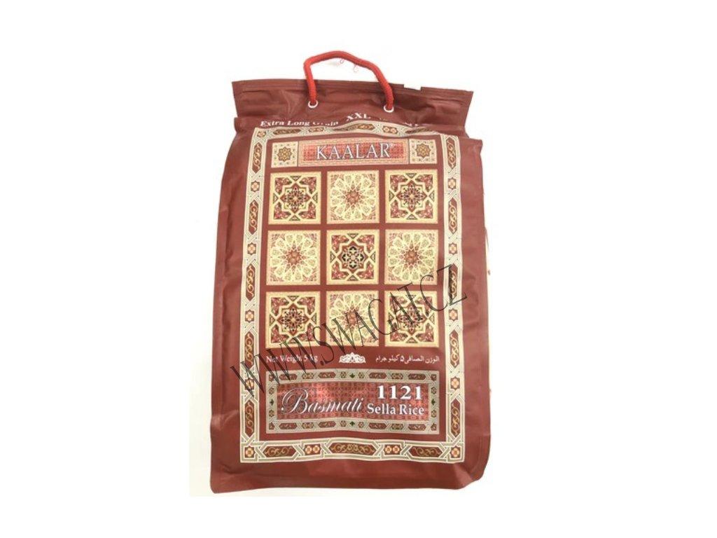 Kaalar Basmati rýže Sella (Basmati Rice Sella) 5kg