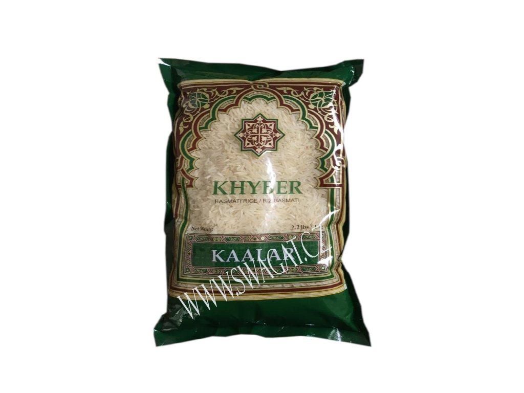 Basmati rýže Khyber, KAALAR 1Kg