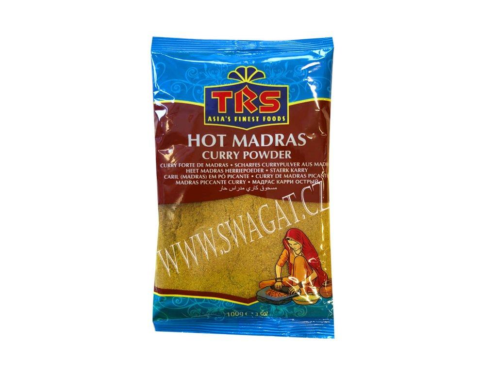 Kari Madras pálivý (Hot Madras Curry Powder),TRS 100g