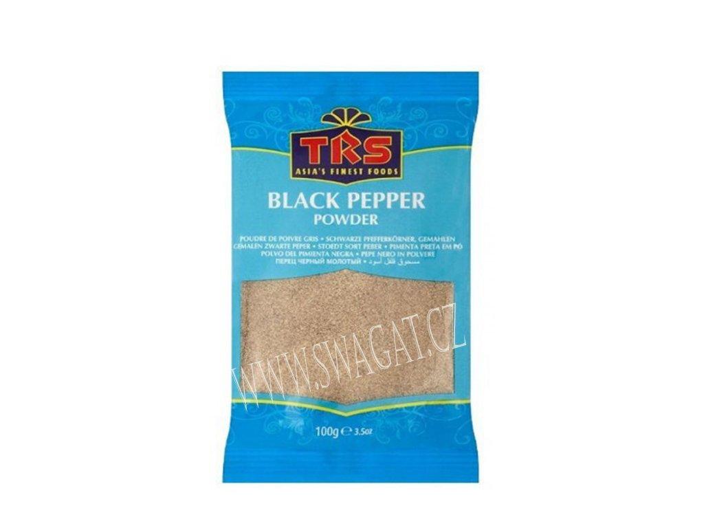Černý pepř mletý (Black Pepper), TRS
