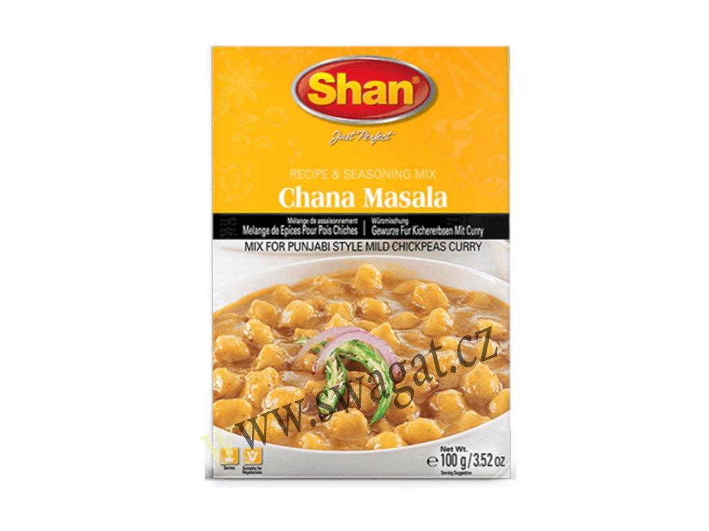Chana Masala - koření na cizrnu,  SHAN 100g