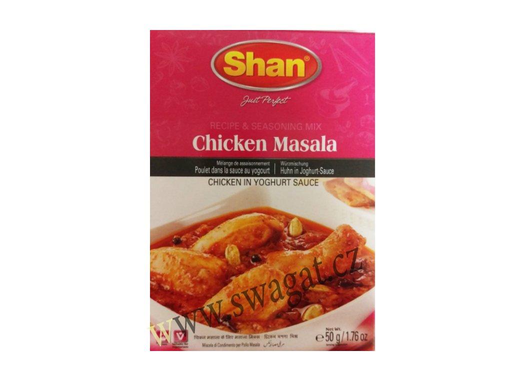 Chicken Masala - koření na kuřecí maso, SHAN 50g