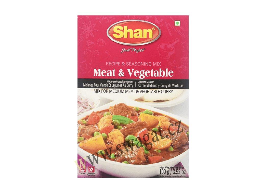 Koření na máso a zeleninu (Meat & Vegetables Masala), SHAN 100g