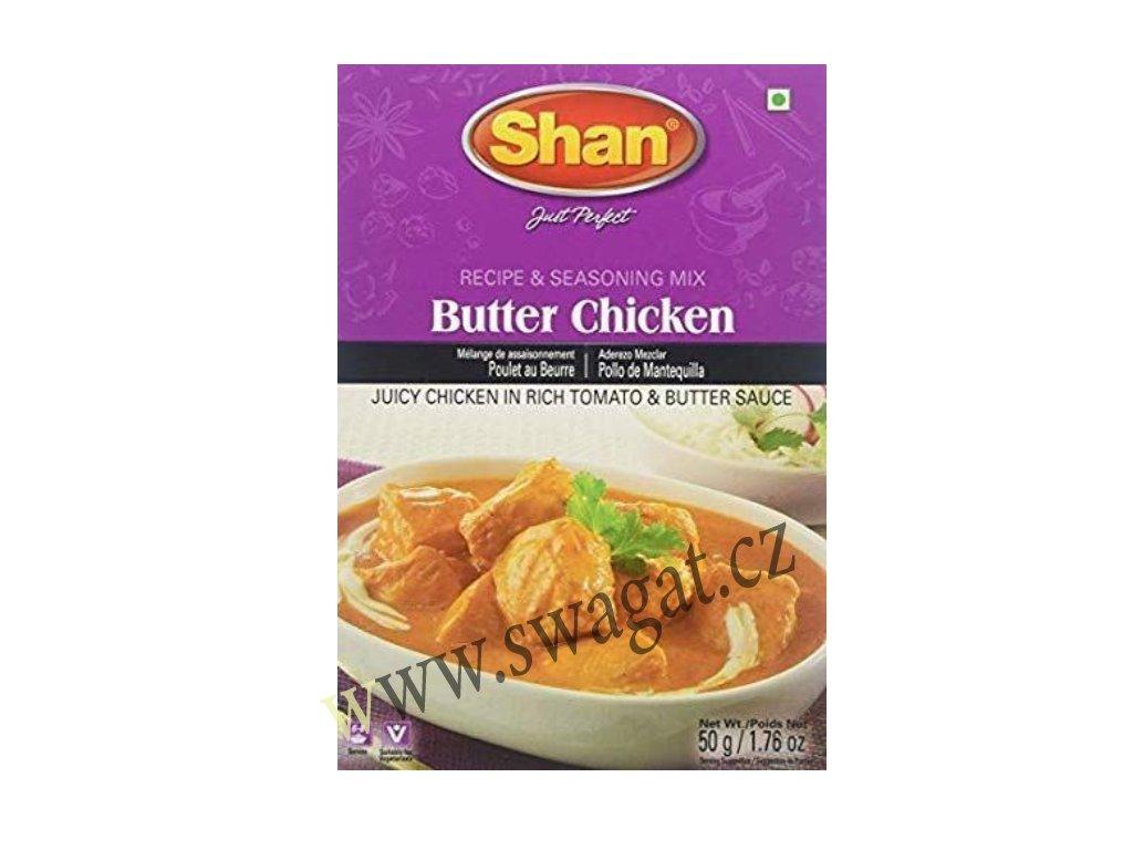 Butter Chicken - koření na Máslové Kuře, SHAN 50g