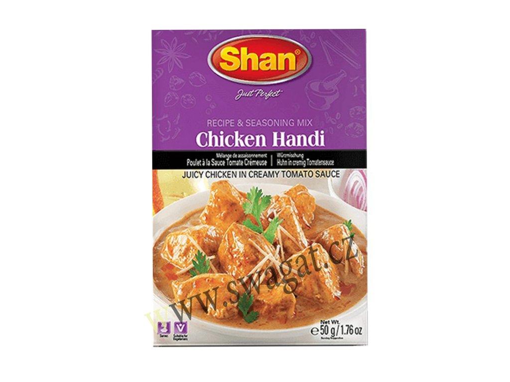 Chicken Handi - mix koření na kuřecí maso, SHAN 50g