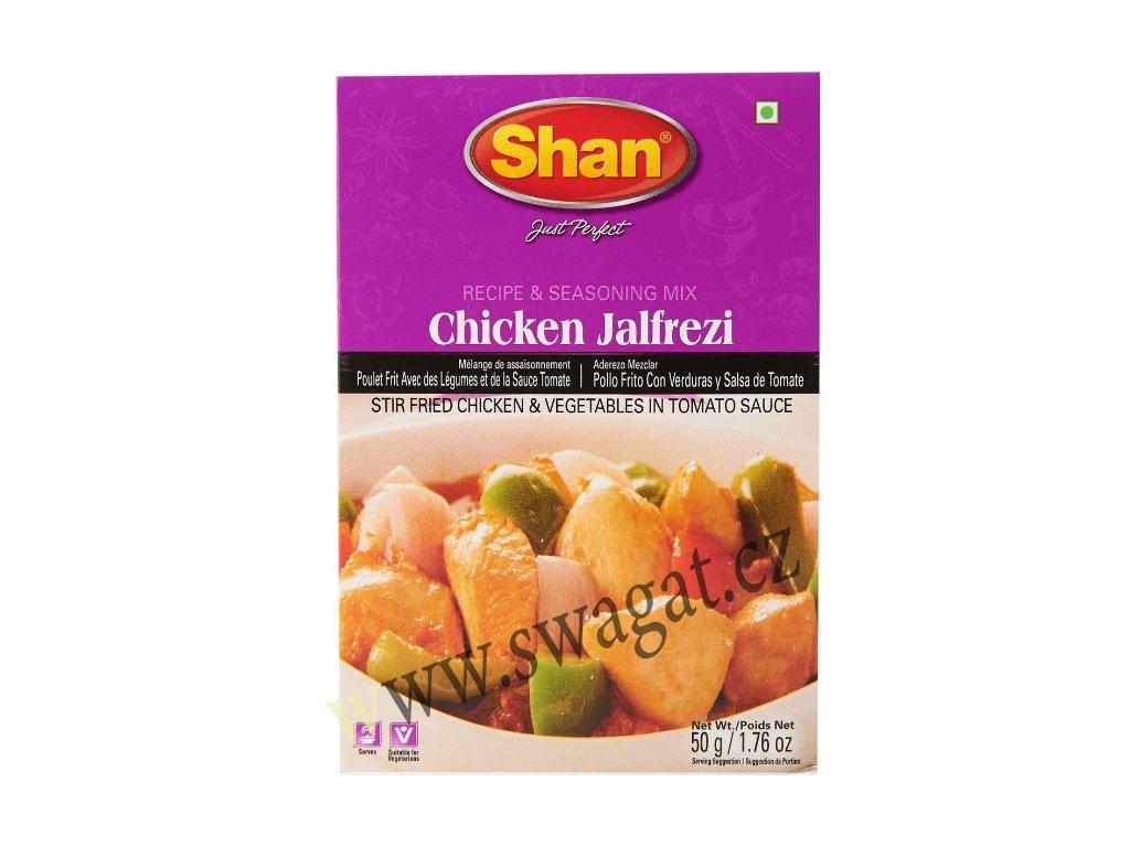 Chicken Jalfrezi - koření na kuřecí maso, SHAN 50g