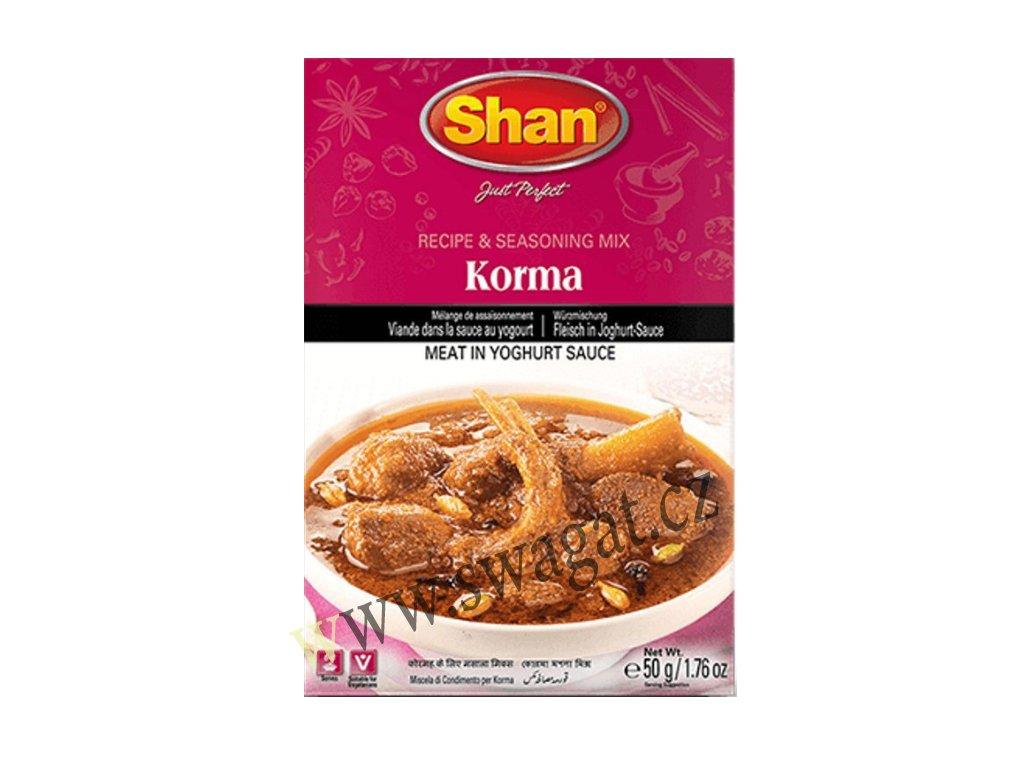 Koření Korma, SHAN 50g