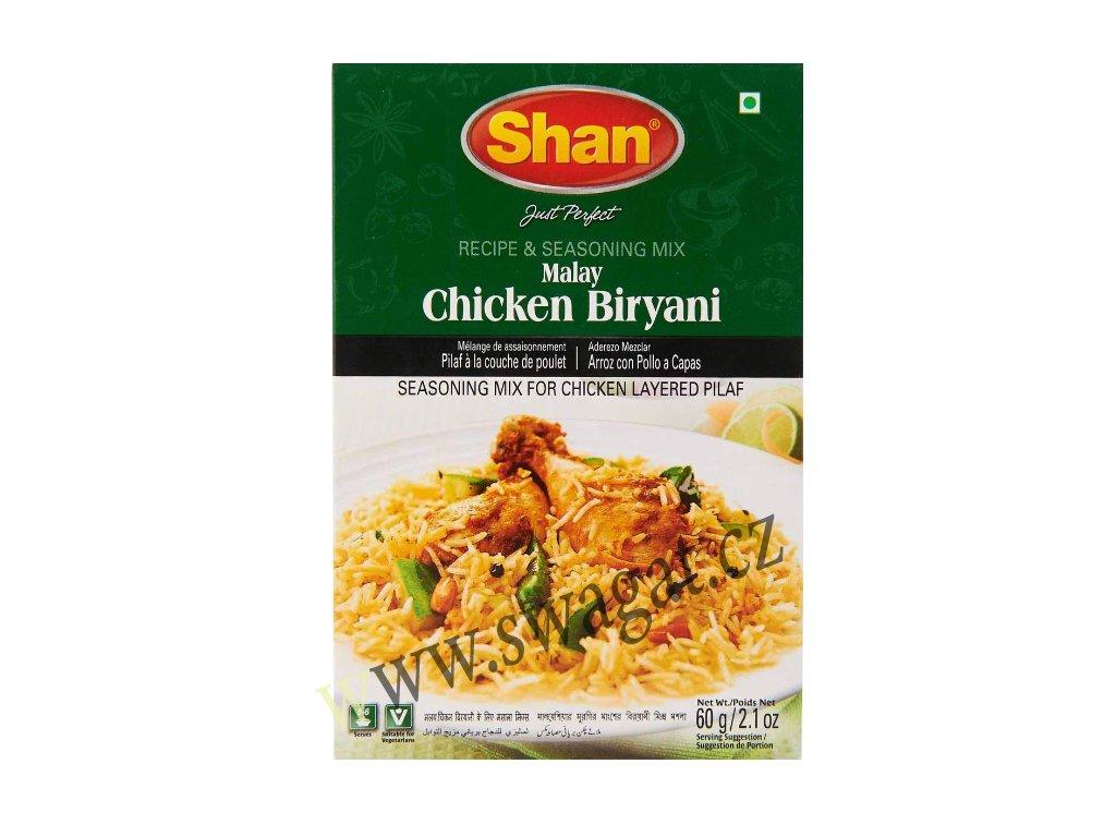 Koření na Kuřecí Biryani (Malay Chicken Biryani Masala), SHAN 60g